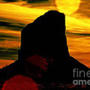 Monument Valley -utah V2 Poster