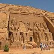 Monumental Abu Simbel Poster