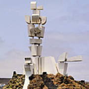 Monumento Al Campesino On Lanzarote Poster