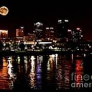 Moon Over Little Rock - No.411 Poster