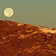 Moon Over Mount Ida Poster