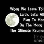 Moon Reunion Poster