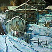 Moonlight A Study Of Kremer Poster by W  Scott Fenton