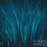 Moonlit Grass Poster