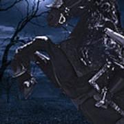 Moonlit Warrior Poster