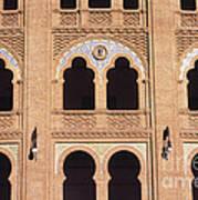 Moorish Arches Madrid Poster