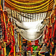 Moorish Market In Granada 2 Poster