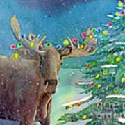 Moosey Christmas Poster
