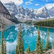 Moraine Lake - Banff National Park - Canada Poster