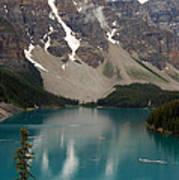 Moraine Lake - Alberta - Canada Poster