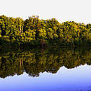 Moraine View State Park Pano 20140718-01 Poster
