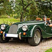 Morgan Roadster Poster