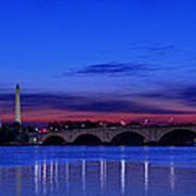 Morning Along The Potomac Poster