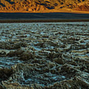 Morning At Badwater Poster