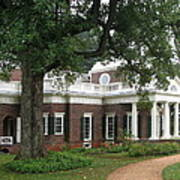 Morning At Monticello Poster