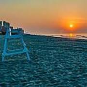 morning at  Myrtle Beach South Carolina Poster