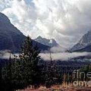 Morning East Glacier Park Poster