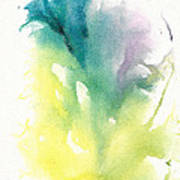 Morning Glory Abstract Poster
