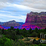 Glorious Morning In Sedona Poster