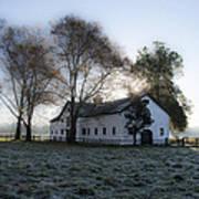 Morning In Whitemarsh - Widener Farms Poster