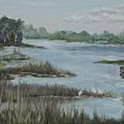 Morning Marsh At Babcock Ranch Poster