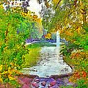 Mirror Lake. The Ohio State University Poster