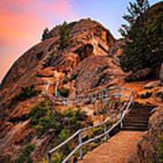 Moro Rock Path Poster