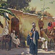 Moroccan Scene Poster