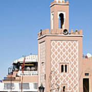 Morocco Mosque Poster