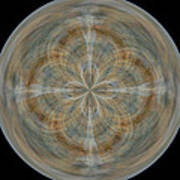 Morphed Art Globes 25 Poster by Rhonda Barrett