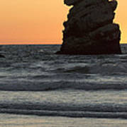 Morro Beach Sunset Poster
