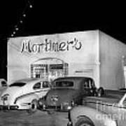 Mortimers Dining  Dancing Marina California  Circa 1948 Poster