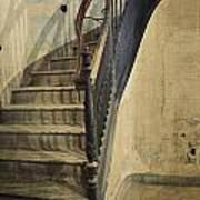 Morton Hotel Stairway Poster