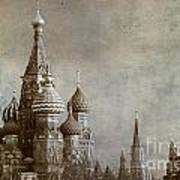Moscow Poster by Bernard Jaubert