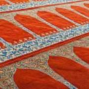 Mosque Carpet Poster