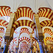 Mosque-cathedral In Cordoba Poster