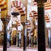 Mosque Cathedral Of Cordoba  Poster