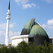 Mosque Zagreb Poster