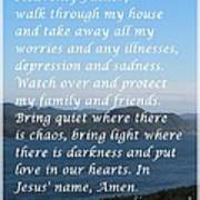 Most Powerful Prayer With Ocean View Poster