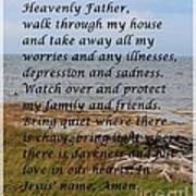 Most Powerful Prayer With Seashore Poster