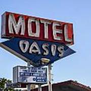 Motel Oasis Poster