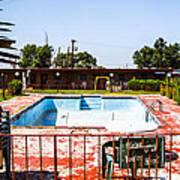 Motel Pool 3 Poster