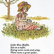 Mother Goose, 1881 Poster