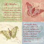 Mothers Day Butterfly Poster