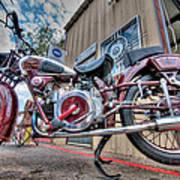 Moto Guzzi Classic Poster