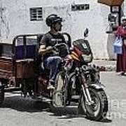 Motorbike Marocco Poster
