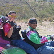 Motorcyclists Helldorado Days Parade Tombstone Arizona 2004 Poster