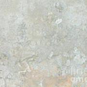 Mottled Beige Cement Poster
