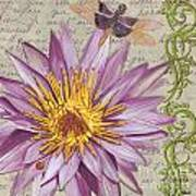 Moulin Floral 1 Poster by Debbie DeWitt