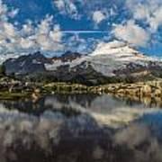 Mount Baker Cloudscape Poster
